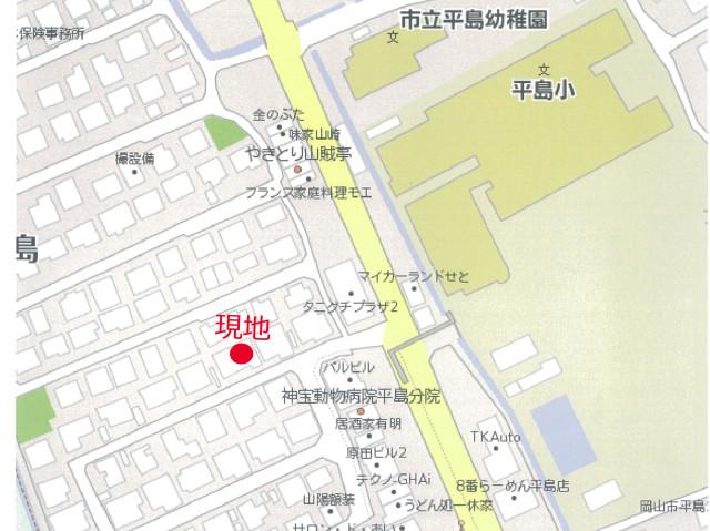 東平島中古物件地図